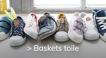 Baskets toiles 21/3